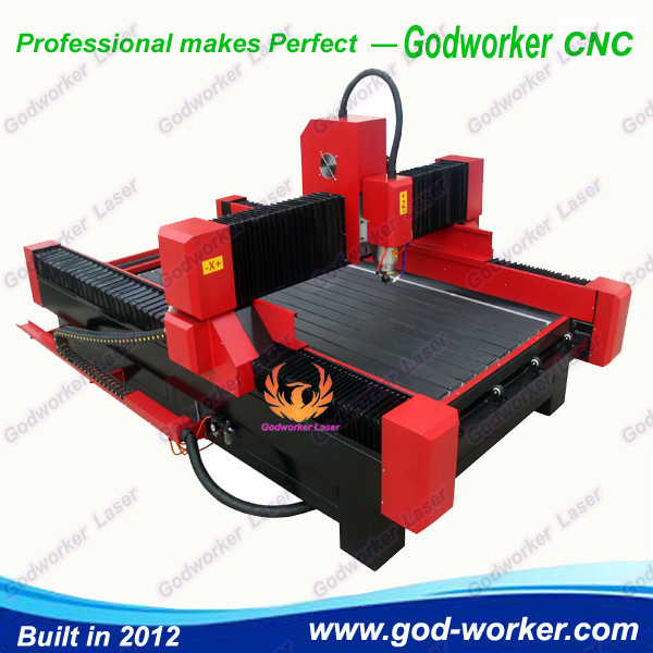 Maintain CNC Router in winter.