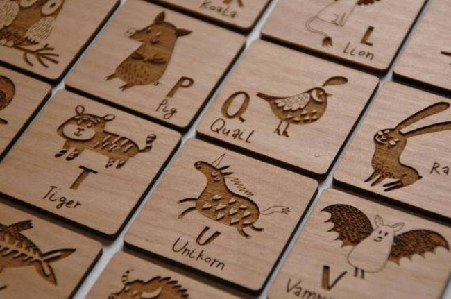 How to use laser machine engraving & cutting material?