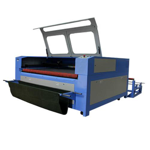 Godworker auto-feeding laser cutting machine applied in thin garment cutting