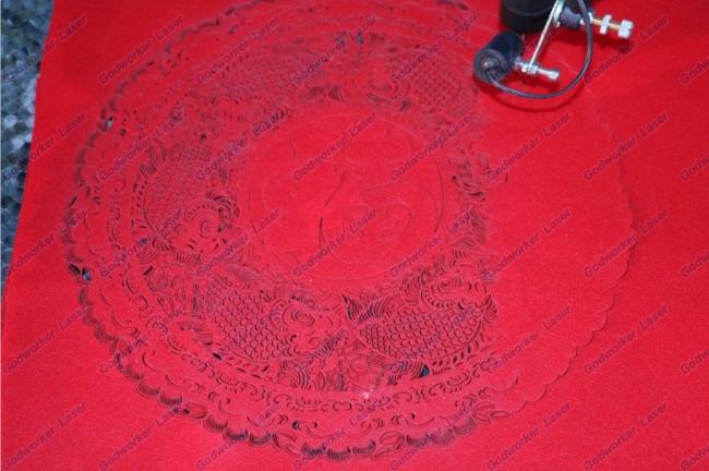 laser cutting paper art crafts