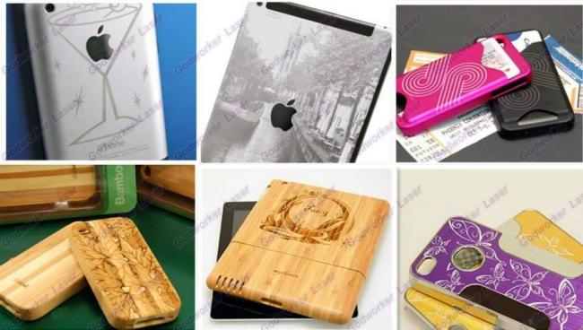 laser engraving phone case