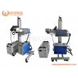 N95 mask laser marking machine 5W UV laser flying marking machine