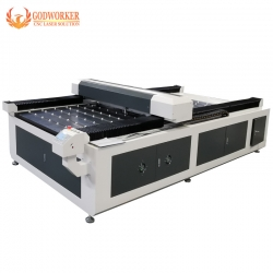 GW-1325 large size laser engraving machine for glass door, mirror, advertising materials