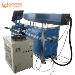 Large size Dynamic focusing CO2 laser marking machine for cutting paper card