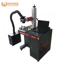 Gold silver jewelry laser marking cutting machine 50W 70W 100W