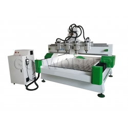 GW-1325 Multi heads woodworking cnc router / CNC multi-head engraving machine