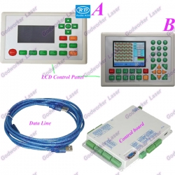 Laser Engrave And Cut Machine Motion Controller Ruida Controller Rd320