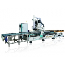 GW-1325 Nesting furniture CNC Router Machine with Automatic Loading/Unloading System