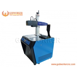 60W 100W 3D relief fiber laser marking machine