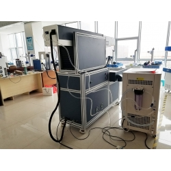 Godworker 200W Coherent CO2 RF laser marking machine for Invitation card, wedding card, leather, wood