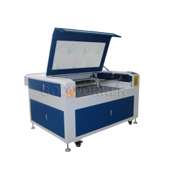 GW-1490 laser cutting machine double heads 80w laser cutting machine