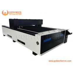 Dual heads laser cutting machine with servo motor YYC gear rack